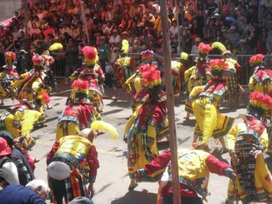 Oruro, Boliwia: ESOS COLORES TAN WENOS D LOS TINKUS