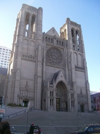 Grace Cathedral: La catedral xD ....lindo che
