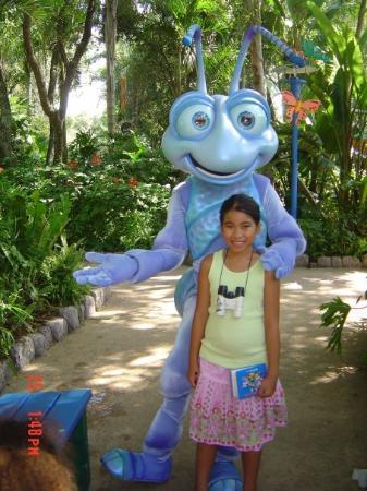 Walt Disney World Resort: Thanh at Disney World Animal of Kingdom 2005