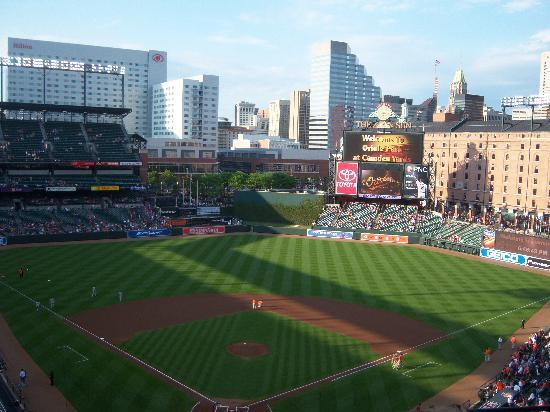 Baltimore, MD: View of Camden Yards
