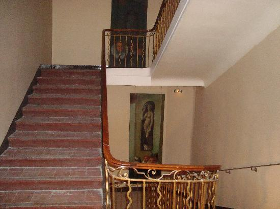 Hotel Artéa : The stairs