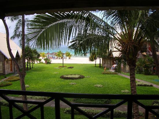 Preskil Beach Resort: vista camera laguna