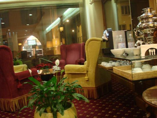 Lugano Dante Center Swiss Quality Hotel: hall