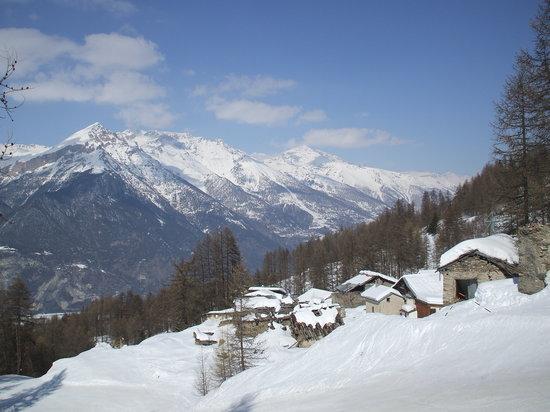 Sauze d'Oulx, Italia: paesaggio
