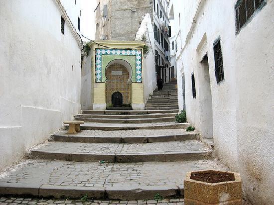 Algier Kasbah: znika