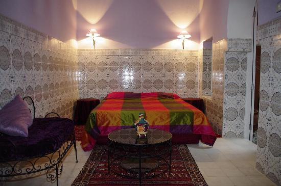 Riad Anne de Meknes: Chambre Yto