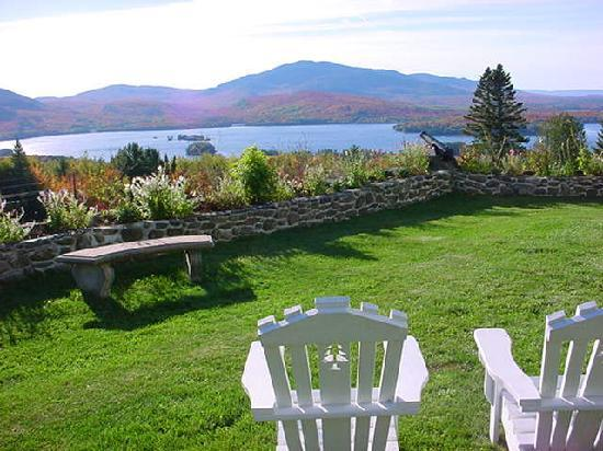 Blair Hill Inn: Your seat awaits you