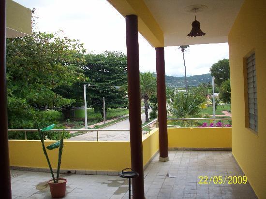 Hotel Guarocuya : Linda vista desde el Pasillo