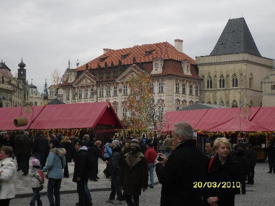 Dominican Hotel: Stalls at the Easter market
