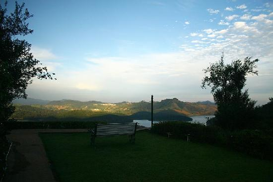 Red Hill Nature Resort: view from the room