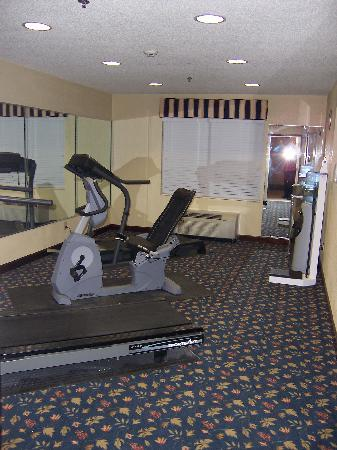 Holiday Inn Express Alpharetta-Roswell: FITNESS CENTER