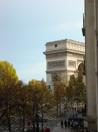 Paris, Frankrike: View from our balcony!