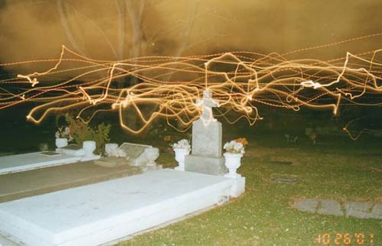 Ghost Tour of Old Monterey : Taken by our local priest!