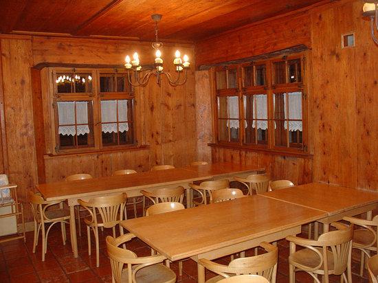 Hostel Feldkirch: Dining room