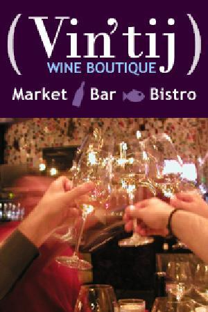 Vintij Wine Boutique & Bistro : Vin'tij toasts our faithful diners!