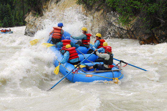 Hydra River Guides: Raft the Kicking Horse