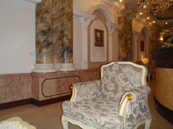 Hanoi City Palace Hotel: Seeting area