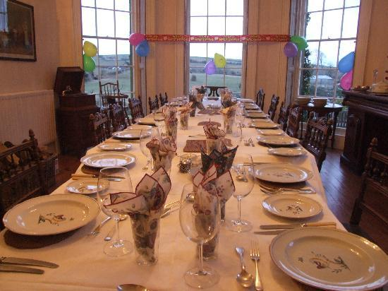 Beachborough Country House: The dining room