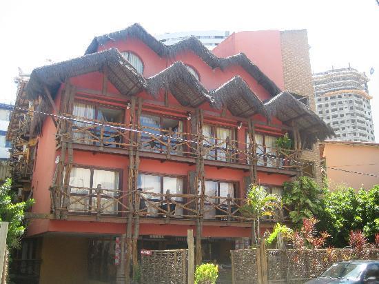 Hotel Safari: O HOTEL BEM LOCALIZADO