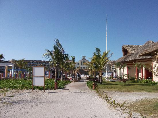 IBEROSTAR Laguna Azul: photo  apartir de la plage