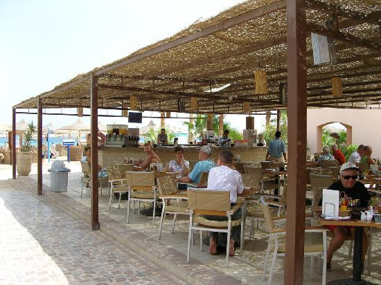 Sol Y Mar Makadi Sun : beach cafe