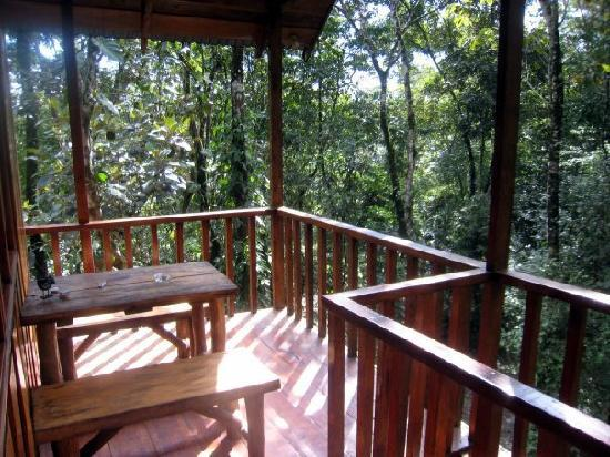 Tree Houses Hotel Costa Rica : Deck
