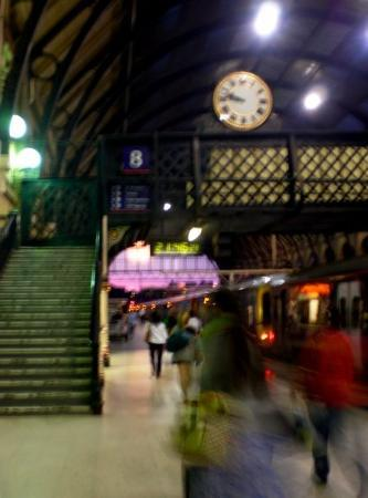 King's Cross Station - my camera wanted to crap out of batteries...