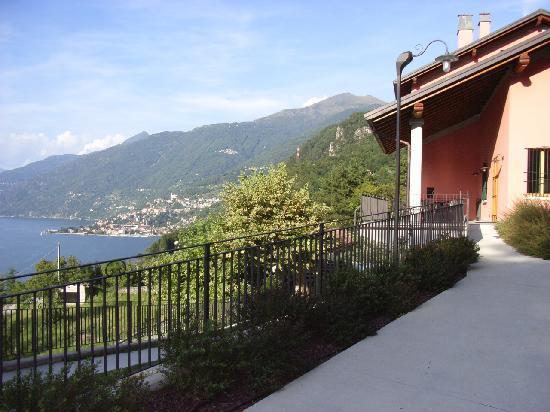 Perledo, Italy: Ristorante e camere con meravigliosa vista lago