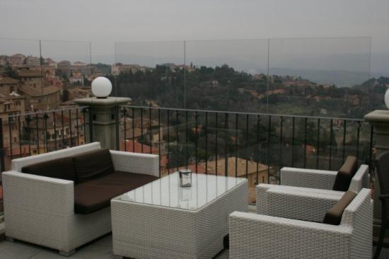 Perugia, Italia: caffè panoramico....