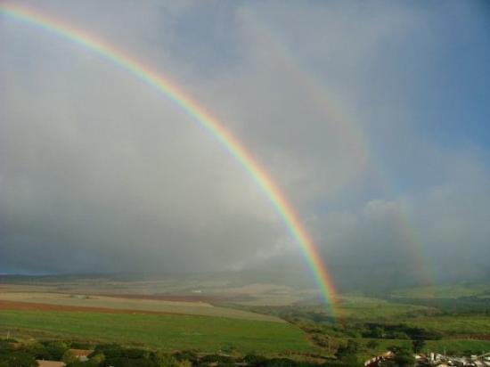 Kihei, HI: rainbows in Hawaii..?