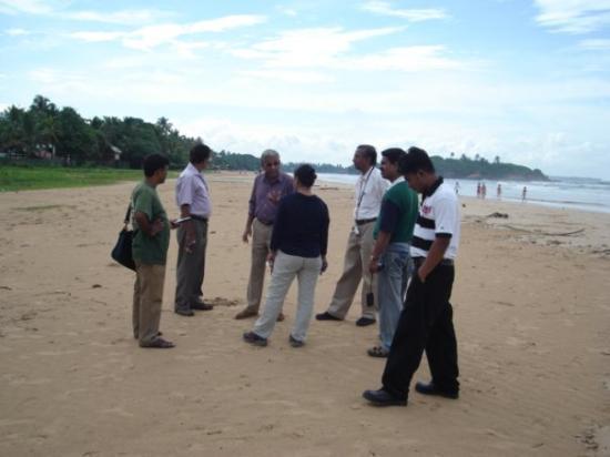 Бентота, Шри-Ланка: Golden Mile Beach