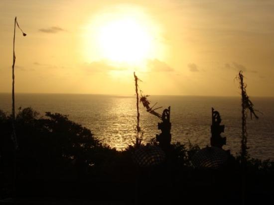 Bilde fra Uluwatu Tempel