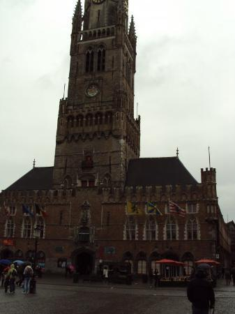 Belfry (Belfort) and Market Halls (Hallen): Belfort, Bruges