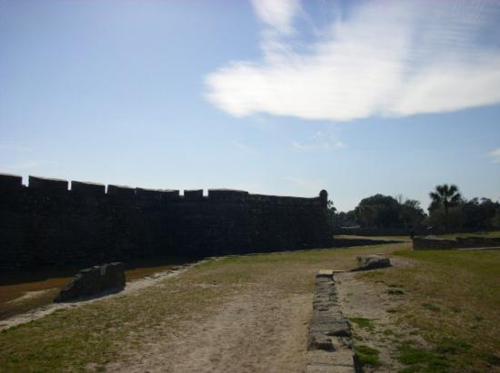 St. Augustine, FL: The fort was so cool and beautiful