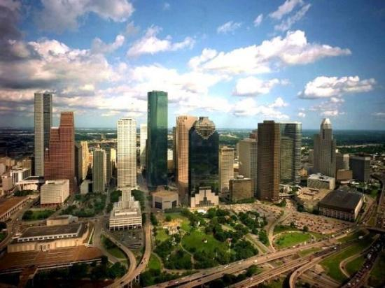 Houston Skyline during the day.