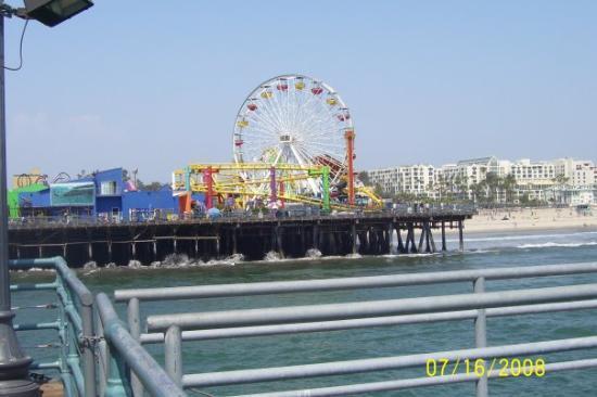 Bilde fra Santa Monica Pier