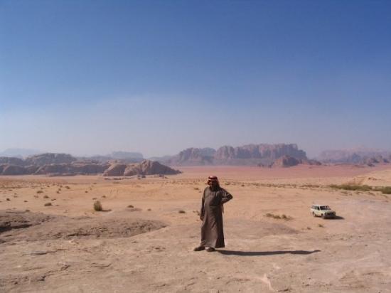 Bilde fra Wadi Rum Protected Area