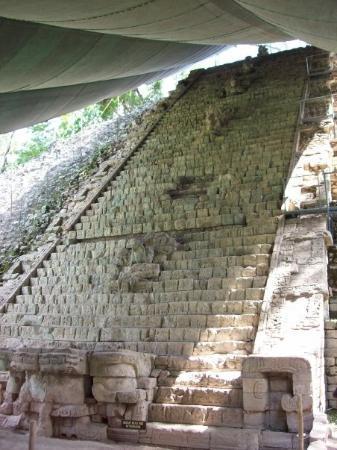 Hieroglyphic Stairway Photo