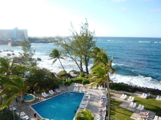 The Condado Plaza Hilton: View from the 3rd Floor Balcony, Condado Plaza, San Juan