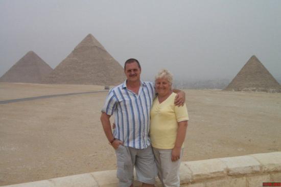 Giza-platået: Auf historischem Boden