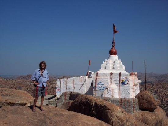 Hampi, India: Not another temple, but the views ok.