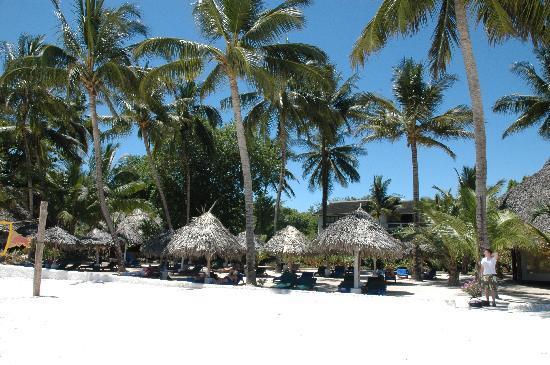 Pinewood Beach Resort & Spa: Taken from in the Indian Ocean