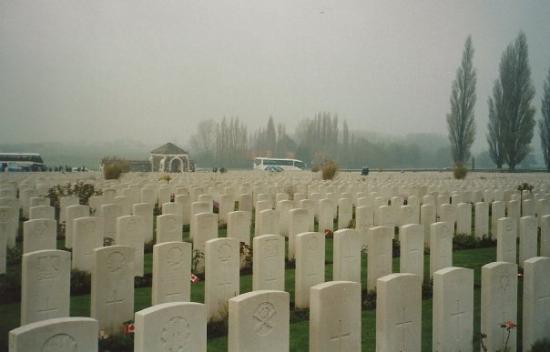 Ieper (Ypres), Belgia: Tyne Cot Cemetery