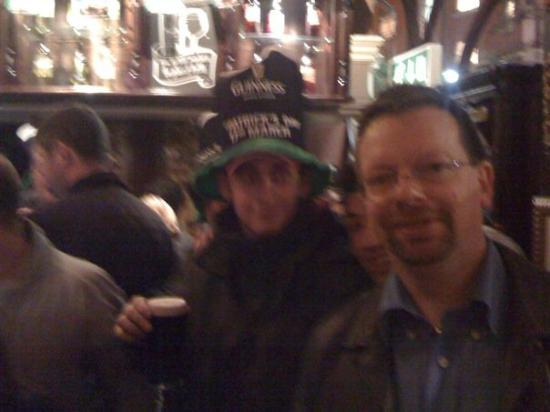 St Patrick's day at St. James Tavern London