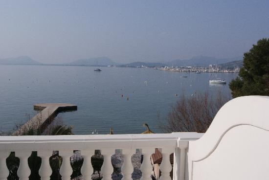 Hotel Illa d'Or : View from Bedroom/Balcony