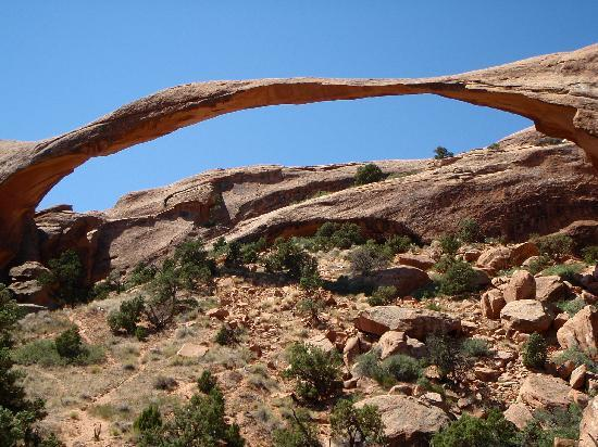 Cali Cochitta Bed & Breakfast: Delicate Arch in nearby Arches N.P.