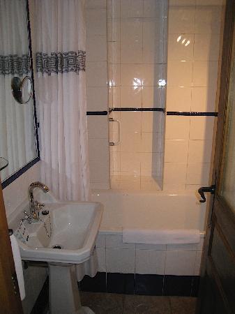 Our bathroom at the Posada La Pastora
