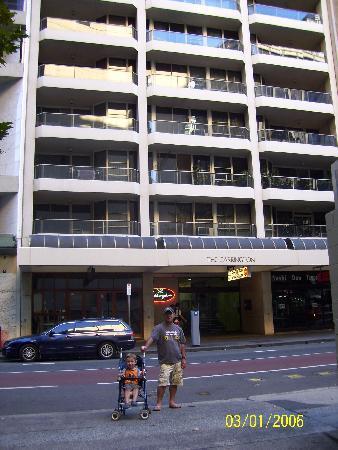 Carrington Apartments: the hotel