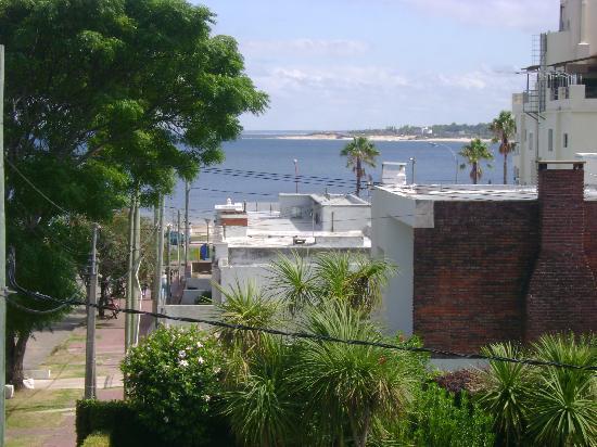 Select Hotel Piriapolis : vista desde habitacion