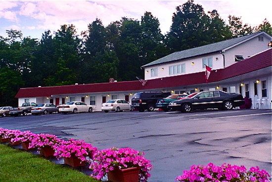 Welcome to the Mount Blue Motel...locally owned and operated!